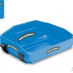 mid blue usherette tray by Usherette Trays
