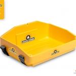 yellow usherette tray for chicki chunk by Usherette Trays