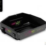 black usherette tray with strap by Usherette Trays