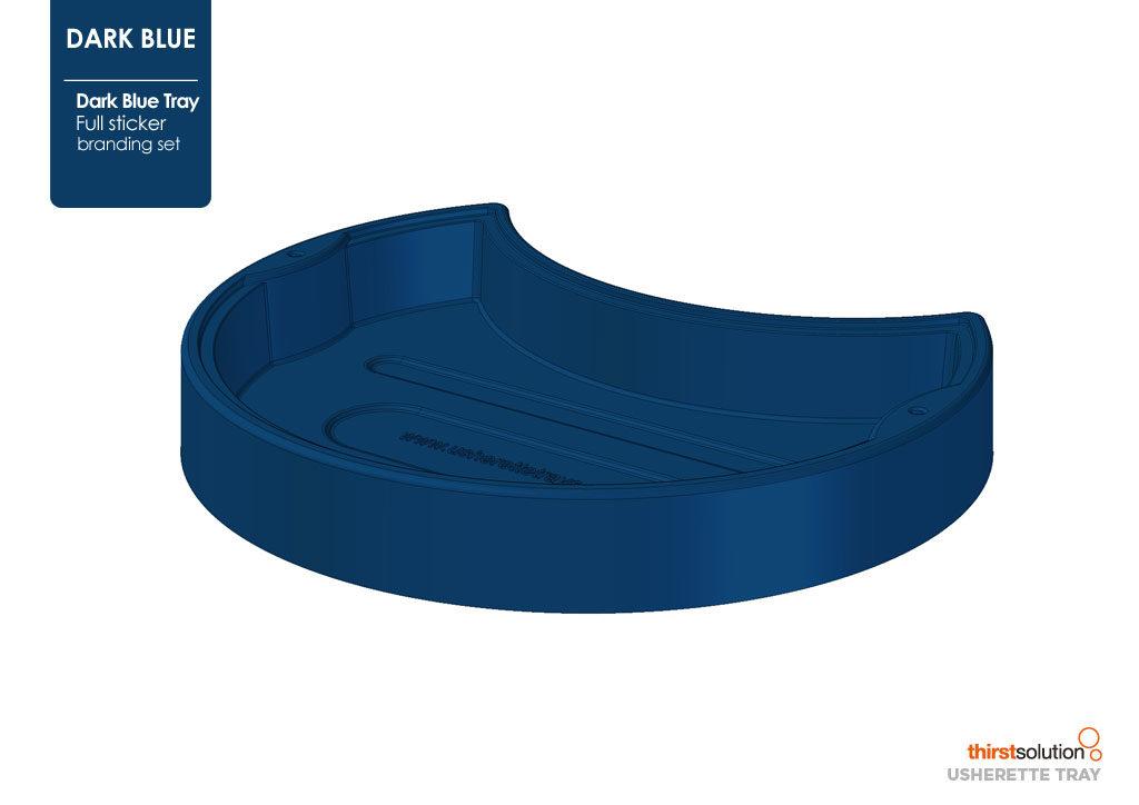 usherette tray blue
